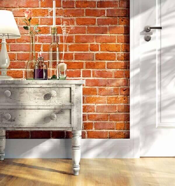 Rodapé poliestireno decora espaço pequeno