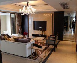 Sala de estar com mármore no piso e nas paredes Foto de Pexels