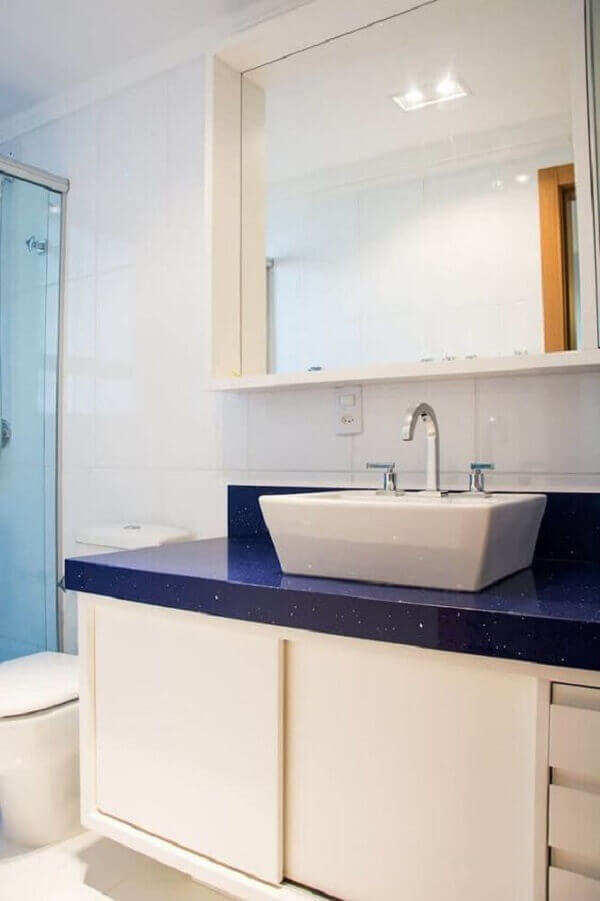 Silestone azul marinho