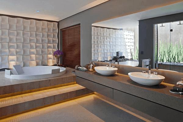 Silestone banheiro com bancada