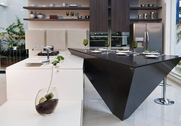 Silestone na cozinha