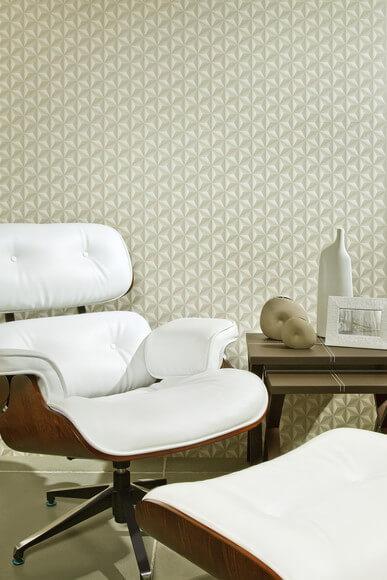 Textura de parede na cor palha Foto de Adesivos Decorativos Fine Arts