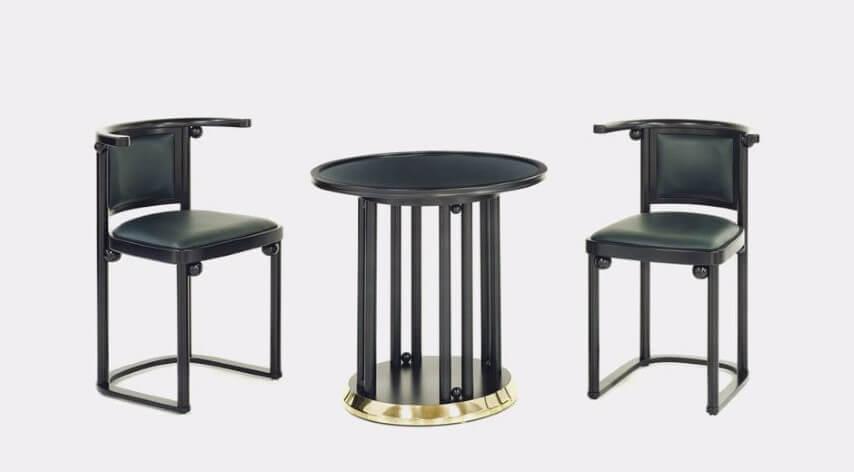 Tipos de cadeiras estofadas Cabaret Fledermaus Foto de ArchiExpo