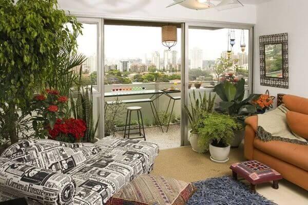 Tipos de plantas ornamentais complementam a decoração moderna