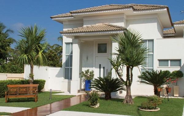 Tipos de plantas ornamentais para fachada de residencia