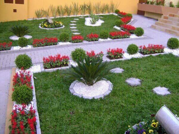 Tipos de plantas para jardim ornamental