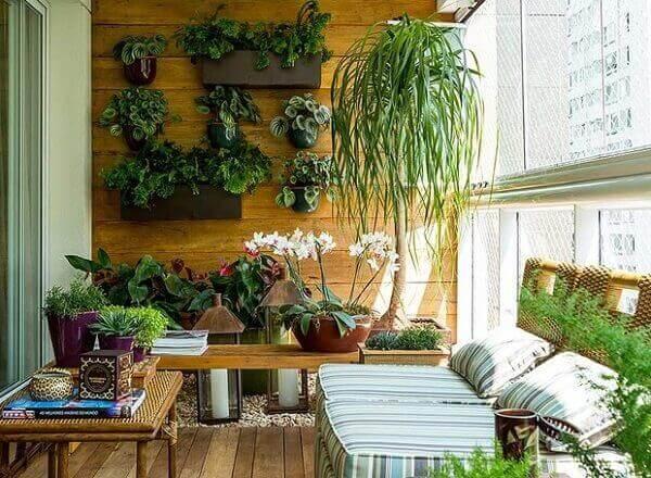 Tipos de plantas para varanda