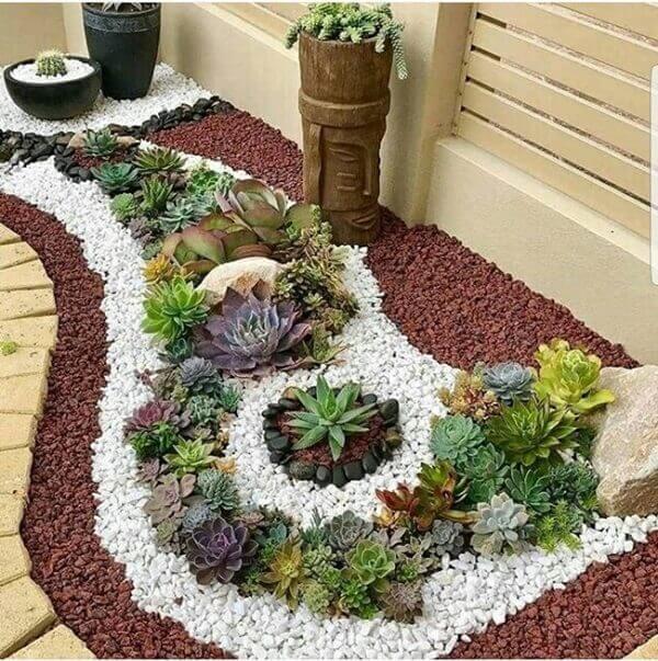 Tipos de plantas suculentas para jardim de inverno