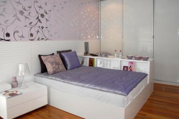 Cores para quarto lilás