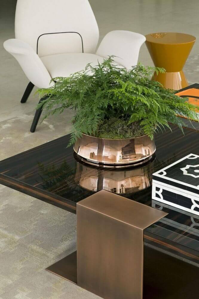 modelo de enfeites decorativos para sala de estar Foto Roberto Migotto