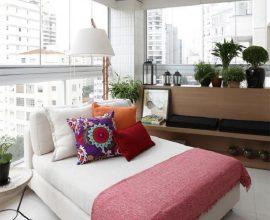 modelo de móveis para varanda ampla  Foto Duda Senna