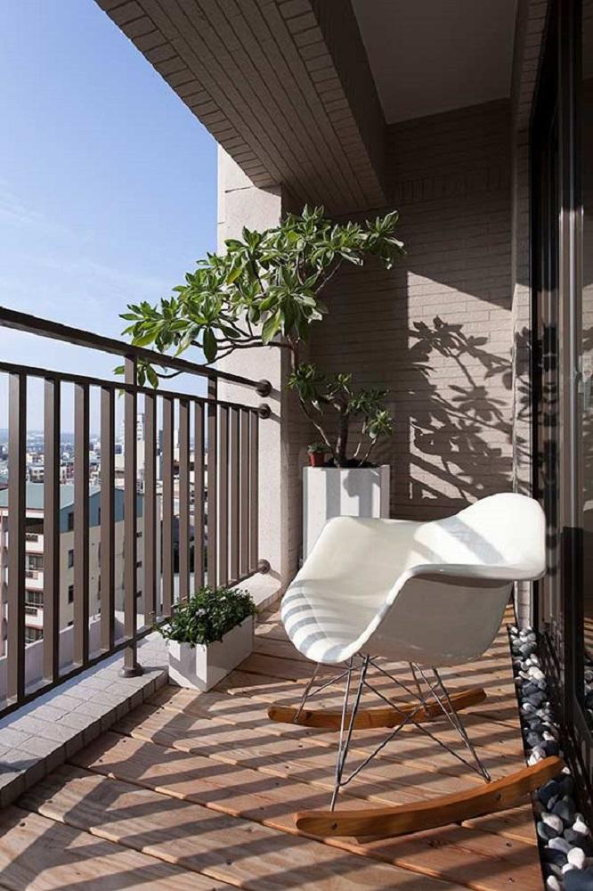 modelo de poltrona para varanda pequena Foto House Design