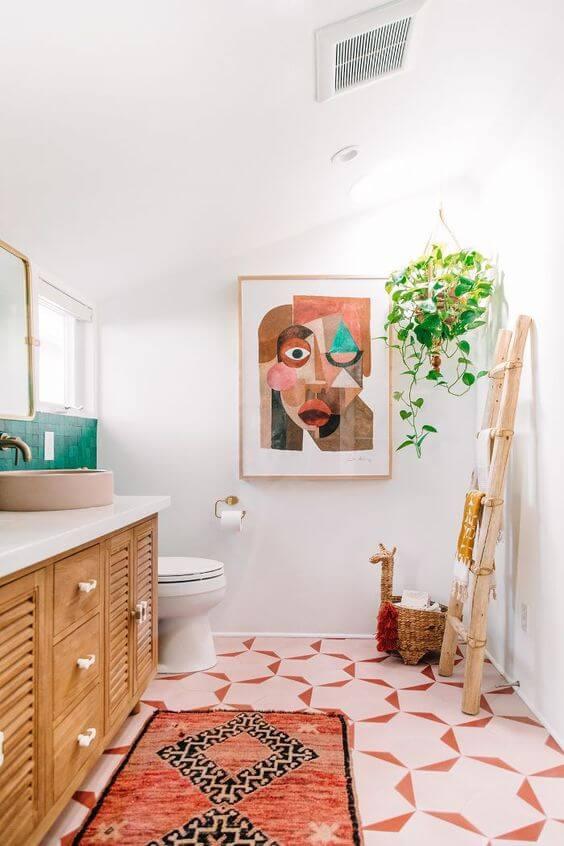 Molduras para quadros para banheiro