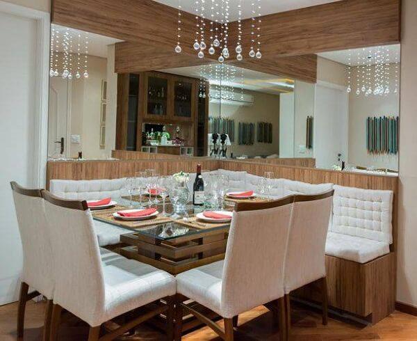 os lustres para sala ou pendentes mais discretos são utilizados em espaços pequenos