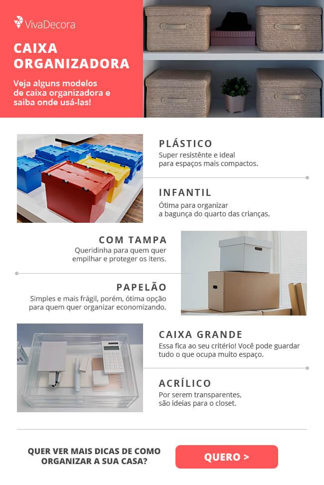 Infográfico - Caixa organizadora