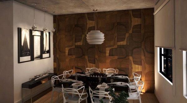 lustres para sala de jantar em estilo moderno