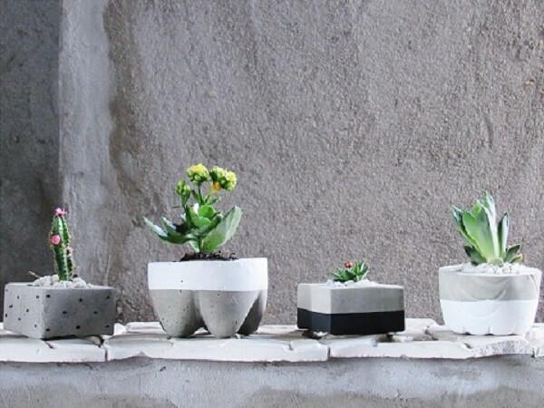 Como fazer vaso de cimento caseiro