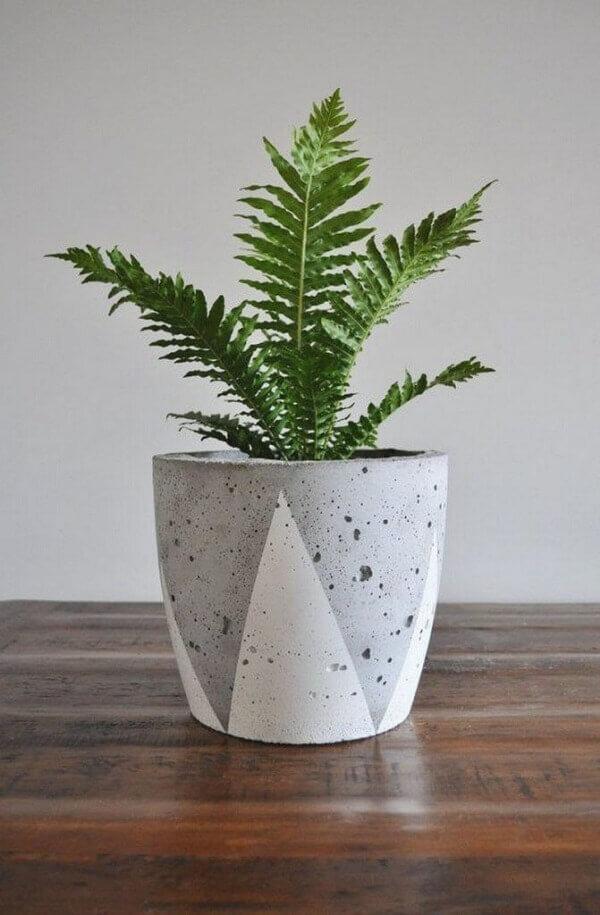 Como fazer vaso de cimento criativo fonte ideias de design para casa