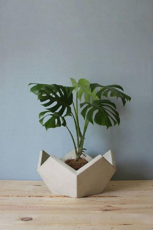 Como fazer vaso de cimento diferente