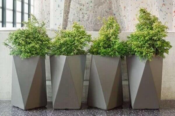 Como fazer vaso de cimento para decoração