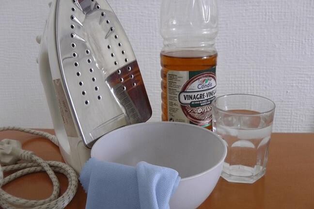 Como limpar ferro de passar com vinagre e água Foto de Sergipe Online