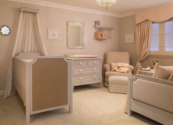 Cor Palha deixa o quarto de bebê mais bonito