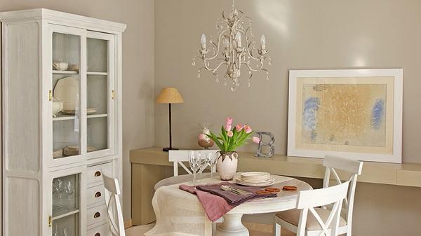 lustre clássico para decoração da sala de jantar