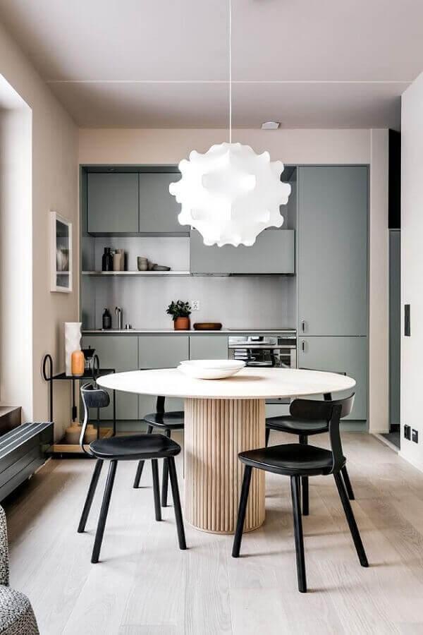 lustres para sala de jantar com estrutura metálica