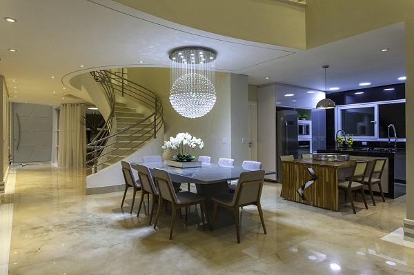 lustres para sala encantam a decoração do ambiente