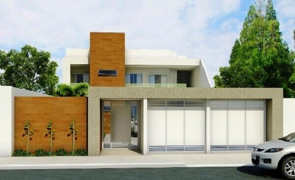 Muros modernos em casa