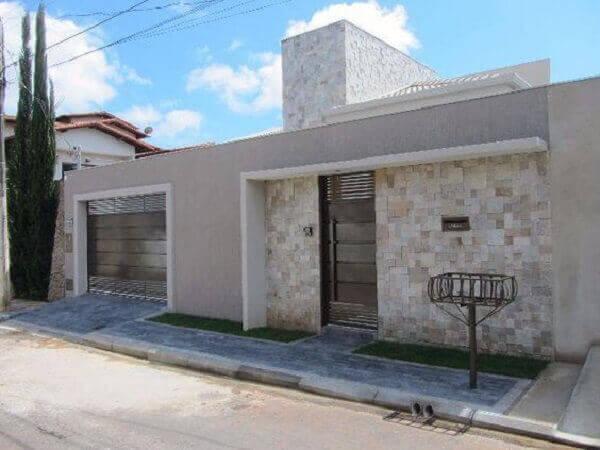 Muros modernos para casas pequenas