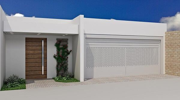 Muros modernos residenciais