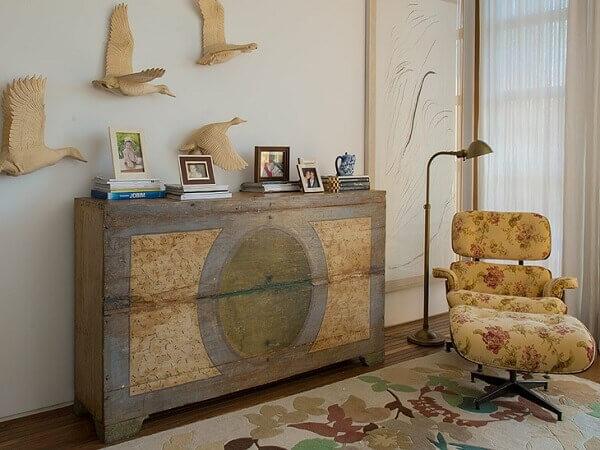 Pátina leva estilo ao ambiente