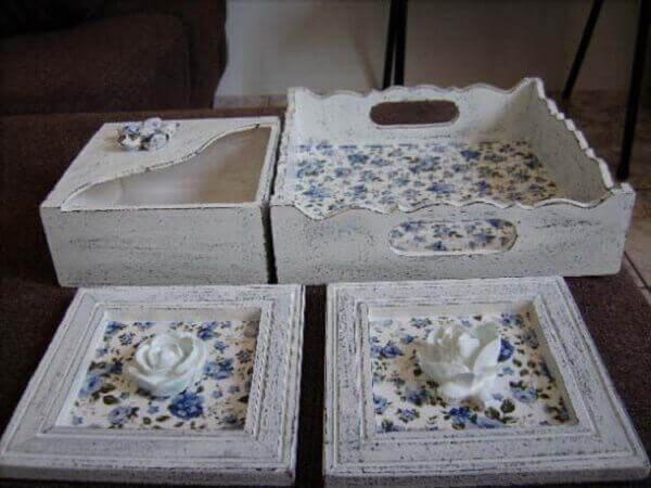Pátina pode ser aplicada em objetos decorativos