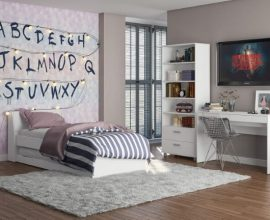 Quarto com decoração inspirada em série Foto de Móveis Politorno