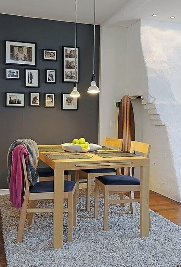 Tapetes para sala de jantar felpudos