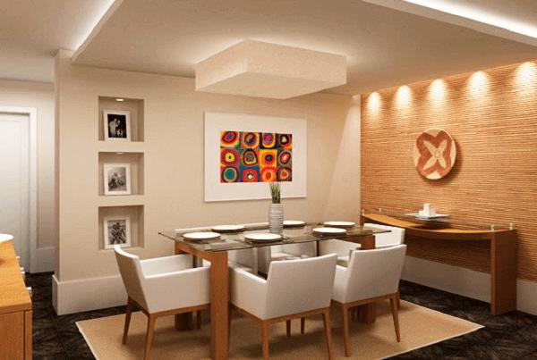Tapetes para sala de jantar sisal