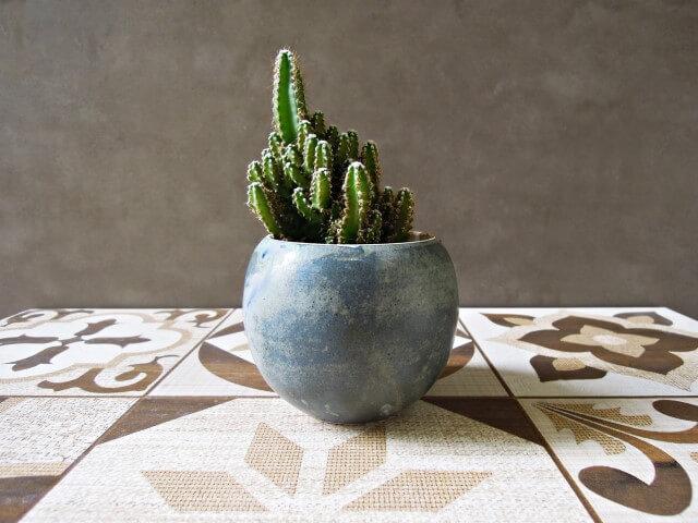 Vasos de cerâmica arredondado Foto de Ceramicaria