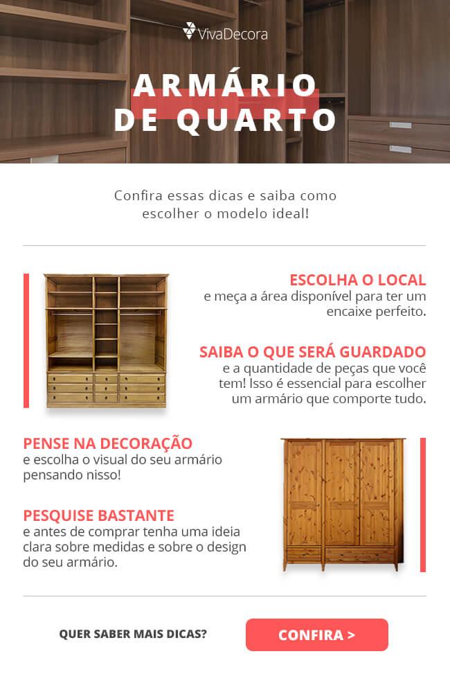 Infográfico - Armário de Quarto
