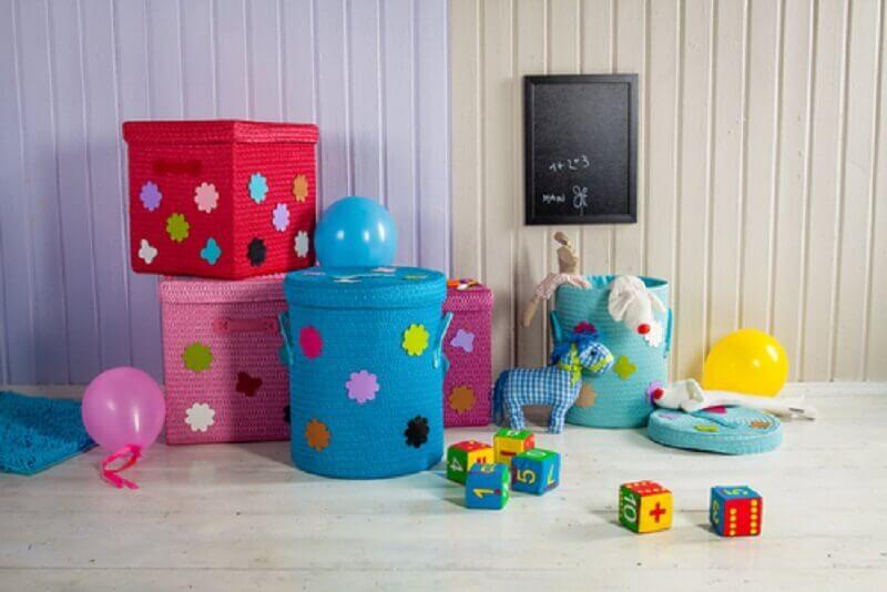 caixa organizadora infantil Foto MamaExpert