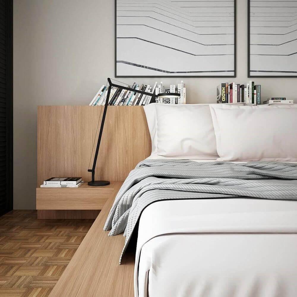 decoração com marcenaria para quartos modernos Foto Assetproject