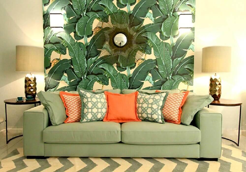 decoração de casa para o verão com plantas
