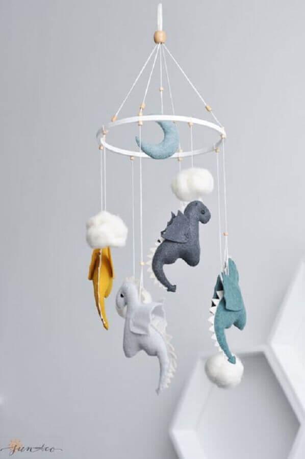 enfeites para quarto de bebê - mobile de dragãozinho Foto Pinosy