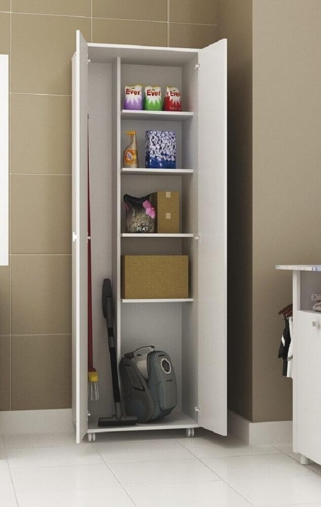 modelo de armário multiuso para lavanderia Foto AboutHome