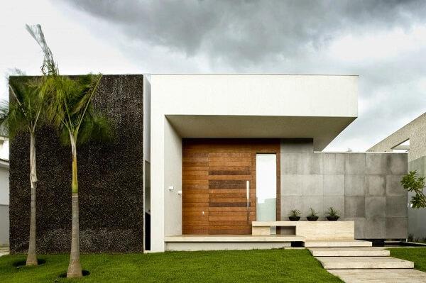 muros modernos em concreto