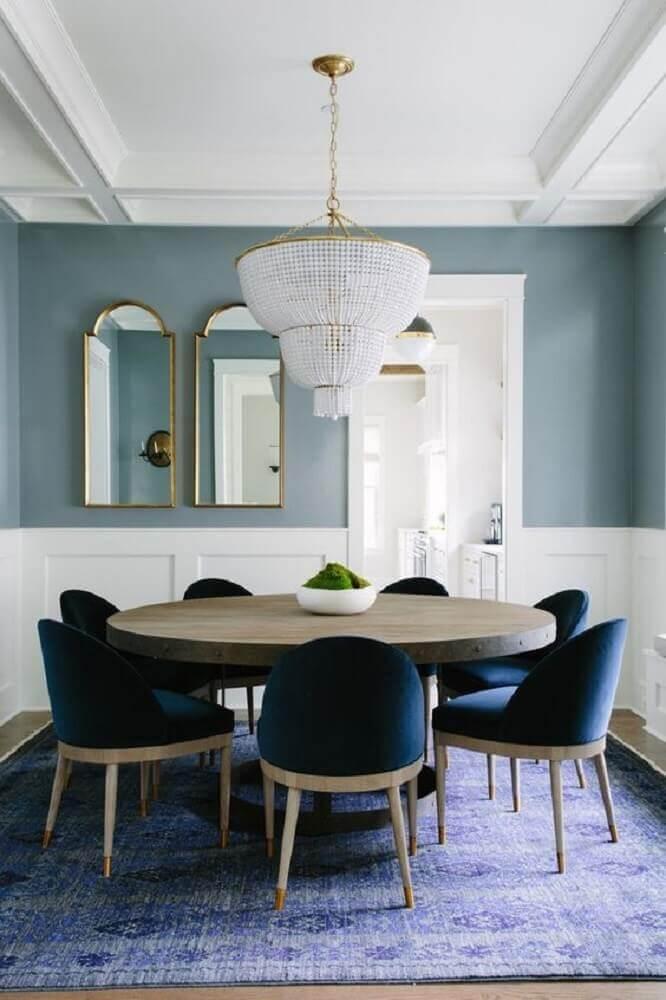 pendente de cristal para sala de jantar com decoração clássica Foto Bar Stools Furniture