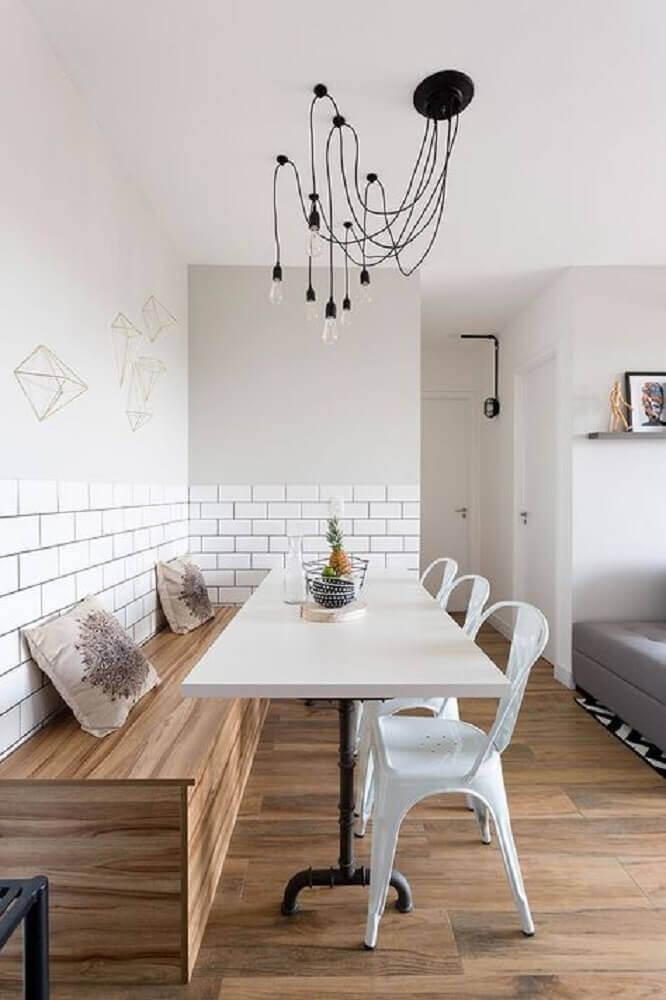 pendente para sala de jantar moderna Foto Esszimmer Stühle