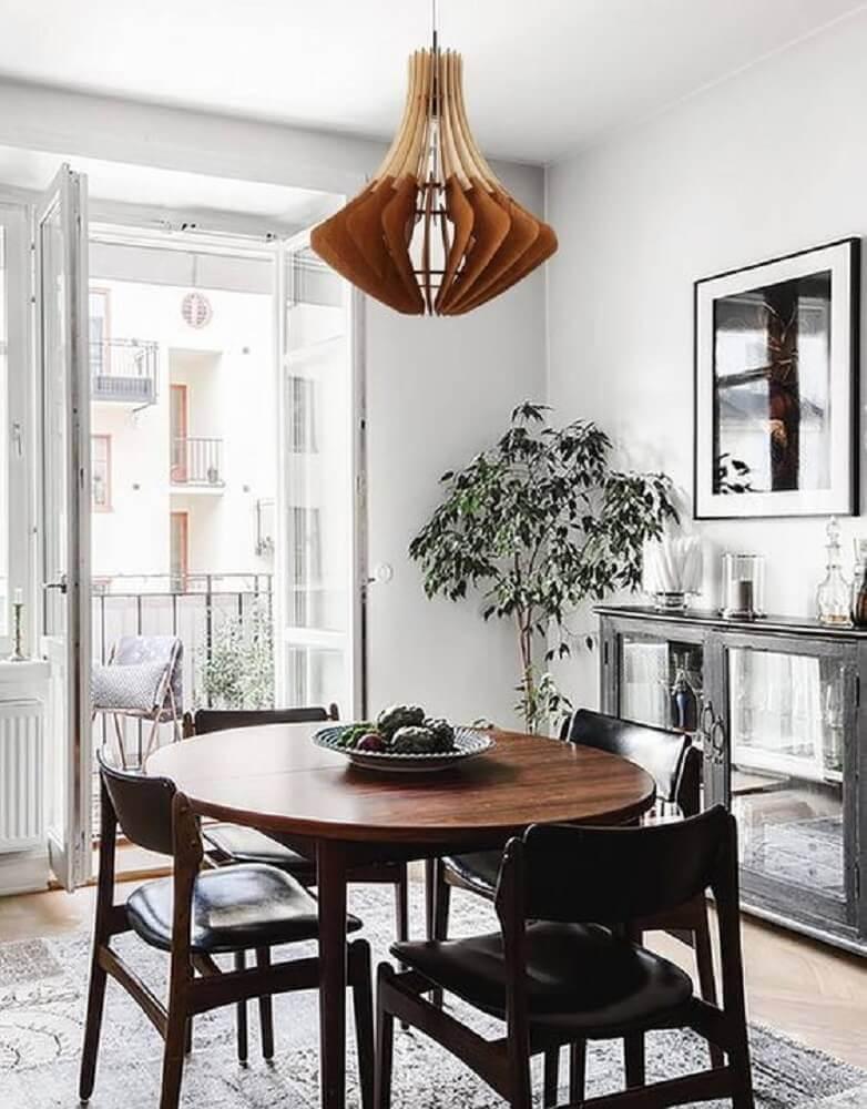 pendente rustico para sala de jantar pequena Foto Etsy