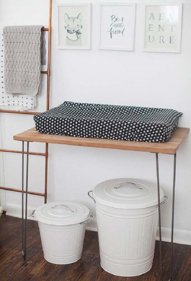 quadros para quarto de bebê com estilo escandinavo Foto MyBabyDoo