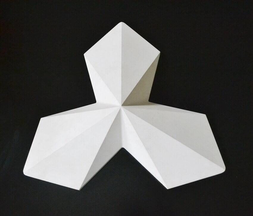 revestimento para parede 3d - coleção admirato